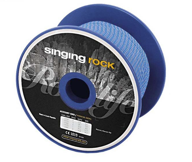 Singing Rock Delka Lenght cordino 4mm-0